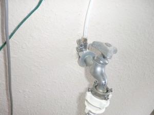 ベランダ 水栓